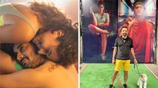 Pics: Taapsee Pannu and Tahir Raj Bhasin shoot 'Looop Lapeta' movie poster with Atul Kasbekar