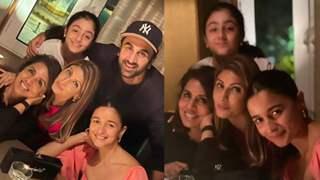 Neetu Kapoor latest family photo features Ranbir Kapoor with beau Alia Bhatt, calls them 'my world'; See pic!