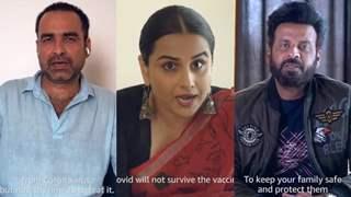 Srikant Tiwari, Kaleen Bhaiya, and Sherni urge Indians to unite and get vaccinated against Covid-19 war