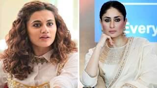 Taapsee reacts to Kareena Kapoor demanding Rs.12 Crore fees to do Sita's role