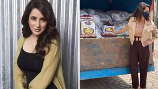 Pics: Tisca Chopra donates 1500 Kgs of ration to theatre workers suffering due to Covid-19 pandemic