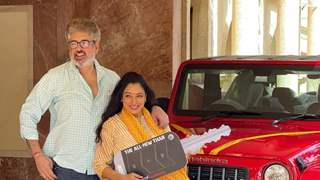 Rupali Ganguly & husband become owners of a new jeep; actor posts