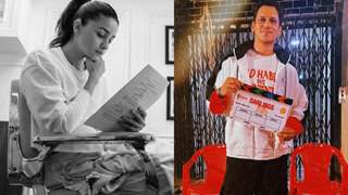 Alia Bhatt, Vijay Varma begin shooting for 'Darlings' today; Duo shares photos from first day of their shoot!