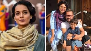Kangana Ranaut reacts to Aamir Khan's divorce with Kiran Rao