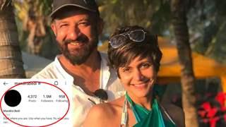 Mandira Bedi 'deletes' profile picture from Instagram, post husband Raj Kaushal's demise