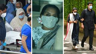 RIP Dilip Kumar: Heartbroken Saira Banu takes mortal remains home, Shabana Azmi, Vidya Balan visit