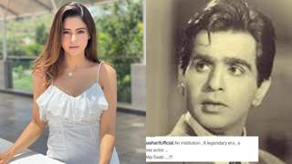 Aamna Sharif: We can now only remember the fond memories and rich legacy Dilip ji left behind