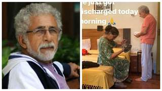 Naseeruddin Shah discharged from the hospital; son Vivaan shares images from home
