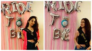 Disha Parmar Bachelorette: Friends throw-in an epic bachelorette for the bride-to-be