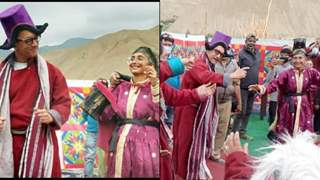 Aamir Khan, Kiran Rao dance on the sets of Laal Singh Chaddha in traditional Ladakh attire; see video!