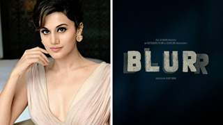 Blurr: Taapsee announces first film as producer; Gripping poster out