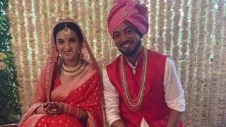 CONGRATULATIONS! Shiny Doshi and Lavesh Khairajani are now married
