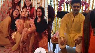 Disha Parmar and Rahul Vaidya wedding: The soon to be married couple is all smiles at their Haldi ceremony