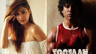 Rhea Chakraborty goes on to give her opinion on 'Toofan'