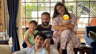 Sara Ali Khan posts about the perfect Eidi as she joins Jeh, Saif, Ibrahim & Taimur for a pic