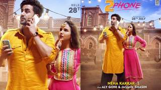 2 Phone: Jasmin Bhasin and Aly Goni collaborate for their third music video