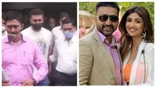Shilpa & Raj's Juhu bungalow raided by Mumbai Police
