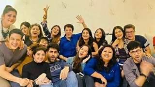 Karanvir, Debattama and others from 'Shaurya Aur Anokhi Ki Kahani' enjoy a reunion party