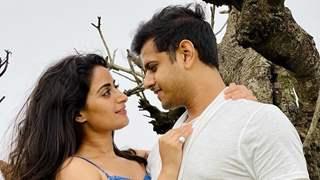 Neil Bhatt and Aishwarya Sharma celebrate six months roka anniversary; take up a cute test