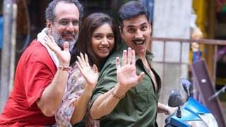 Pics: Akshay Kumar wraps up Mumbai schedule of 'Raksha Bandhan': I know I'm leaving the set a better actor