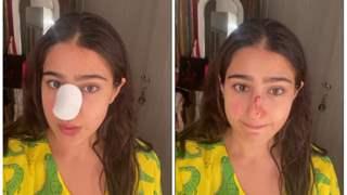 Sara Ali Khan suffers major nose injury; apologises to parents Saif, Amrita: 'Naak kaat di maine'