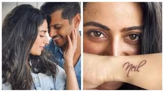 'Ghum Hai Kisikey Pyar Meiin' fame Aishwarya Sharma gets fiance Neil Bhatt's named inked as a birthday present