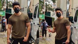 Sooraj Pancholi raises awareness about covid-appropriate behavior, says 'No' to remove masks