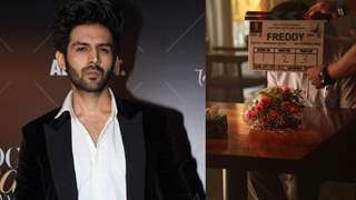 Kartik Aaryan starrer 'Freddy' finally comes to life, actor shares glimpse from the first shot!