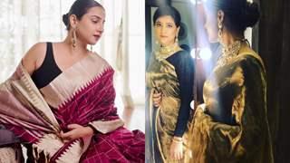 Vidya Balan, Tahira Kashyap celebrate 'Handloom Day' with heartwarming notes expressing love for sarees!