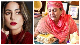 Hina Khan posts heart-breaking visuals of mother crying on her late father's birthday