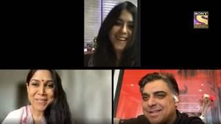 Ram Kapoor & Sakshi Tanwar reunite with Ekta Kapoor to talk about 'Bade Acche Lagte Hai 2'