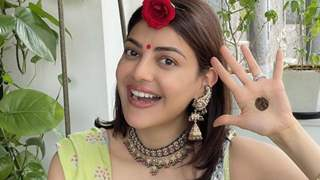 Kajal Aggarwal shares pictures from her first Hariyali Teej celebrations post wedding