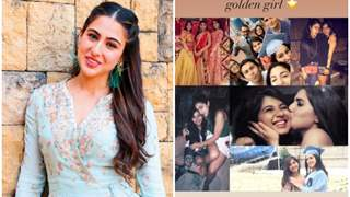 Sara Ali Khan receives a sweet surprise from her best friends on her birthday; see pictures!