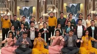 Neil Bhatt, Ayesha Singh and team Ghum Hai Kisikey Pyaar Meiin recreate the 'Bachpan ka Pyaar' video