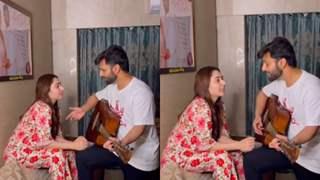 Rahul Vaidya sends love to wife Disha Parmar as she kickstarts shoot for Bade Acche Lagte Hai 2