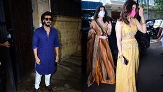 Rhea Kapoor - Karan Boolani's Wedding: Arjun, Anshula, Shanaya, Khushi clicked at Anil Kapoor's residence