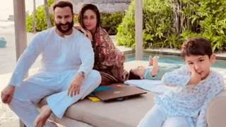 Kareena Kapoor shares first family picture with Jeh on hubby Saif Ali Khan's birthday, see picture!