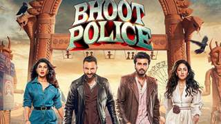 Bhoot Police: Saif, Arjun, Yami & Jacqueline take a swag walk in the poster ahead of the film's release