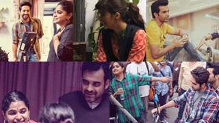 Never seen before behind the scenes from Ayushmann-Kriti-Rajkummar's Bareilly Ki Barfi