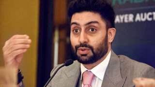 Abhishek Bachchan suffers injury; admitted to hospital