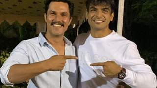 """""""Where does one go from the top?"""": Randeep Hooda after meeting gold medalist Olympian Neeraj Chopra"""
