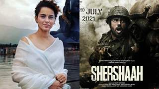 Kangana Ranaut is all praises for Sidharth Malhotra starrer Shershaah, calling the film a 'Glorious tribute'!