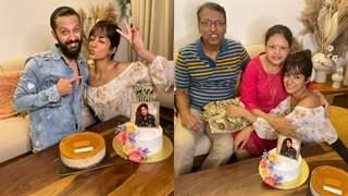 Ishita Dutta celebrates her birthday with friends, family and beau Vatsal Sheth