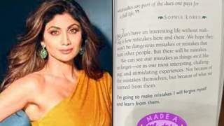 """Shilpa Shetty accepts making a mistake with a cryptic note: """"Made a mistake, but it's okay"""""""