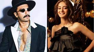 Ranveer Singh reacts to Ananya Panday's pictures