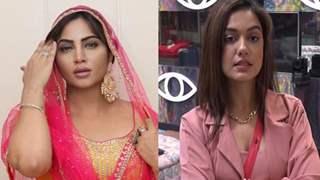 Arshi Khan fires salvo at Divya on sidelines of 'Bigg Boss OTT'