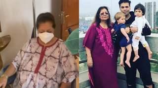 Karan Johar reveals mom Hiroo had 'two massive surgeries' amid pandemic, twins Yash-Roohi have cutest gesture