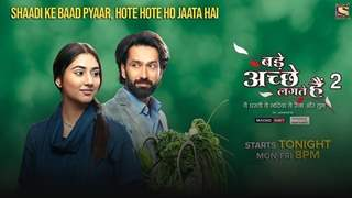 Nakuul Mehta and Disha Parmar as Ram and Priya align with contemporary times in Bade Achhe Lagte Hain 2