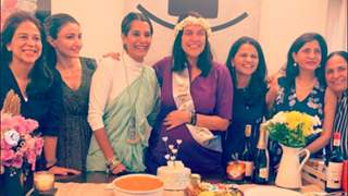 Neha Dhupia shares images from her 'surprise' baby shower