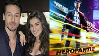 Tiger Shroff & Tara Sutaria jet away to London for 'Heropanti 2' shoot